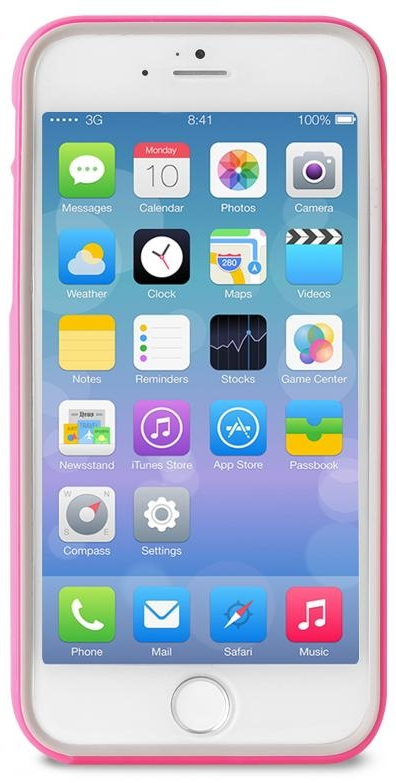 Чехол Puro Bumper iPhone 6 Plus - Pink, картинка 2