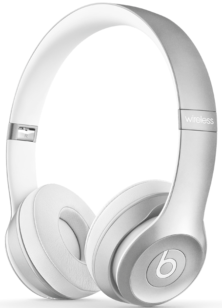 Наушники Beats Solo2 Wireless Silver