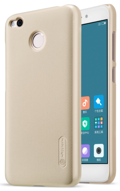 Чехол Nillkin Frosted Shield Xiaomi Redmi 4X - Gold