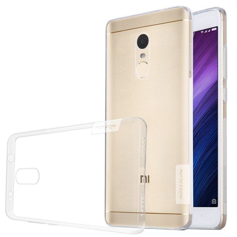 Чехол силиконовый Nillkin TPU case Xiaomi Note 4X - Clear