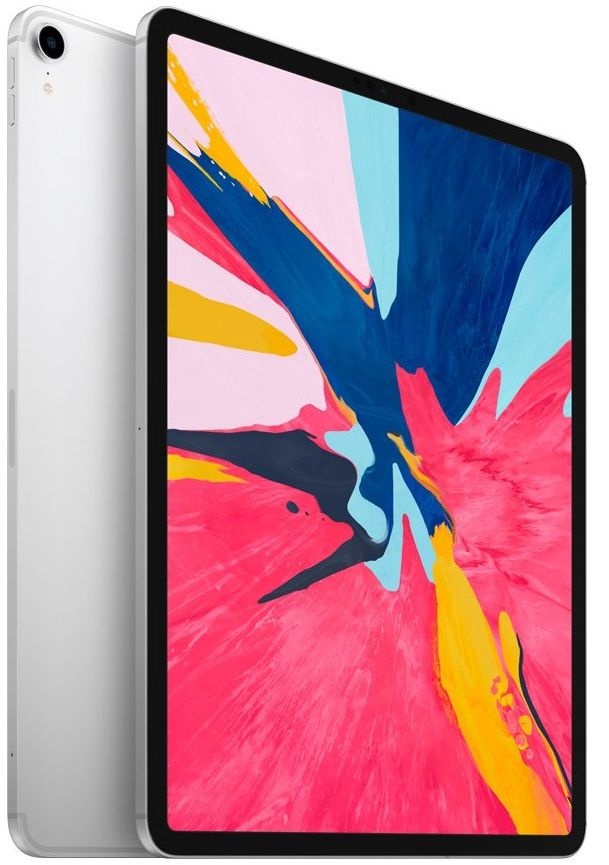 Планшет Apple iPad Pro 12.9 (2018) 64Gb Wi-Fi + Cellular Silver (Серебристый)