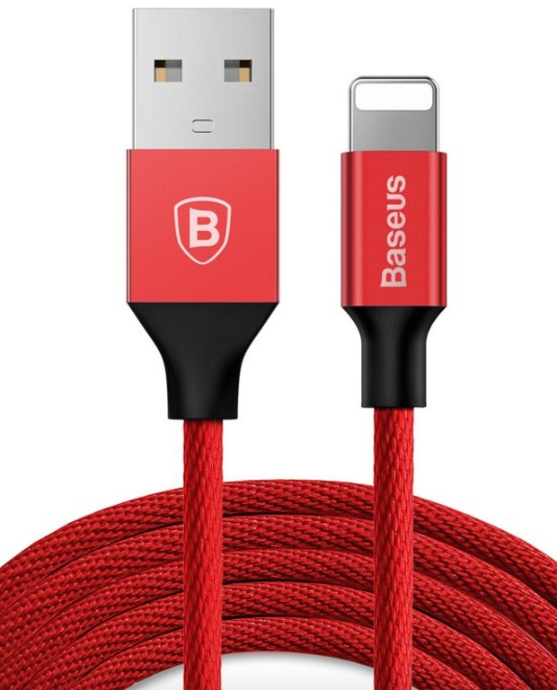 Кабель BASEUS Yiven Lightning Cable 1.5A 3.0m - Red/Red
