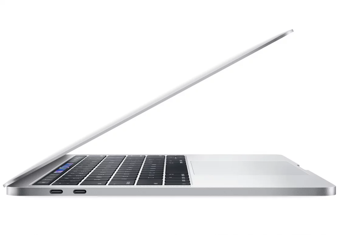 "Ноутбук Apple MacBook Pro 13.3"" Mid 2018 (IPS 2560x1600/Intel Core i5 8259U 2.3ГГц/8Гб/256Гб SSD/Intel Iris graphics 655/Mac OS Sierra/Touch Bar) (MR9U2) Silver / Серебристый, картинка 2"