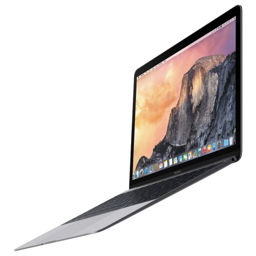 "Ноутбук Apple MacBook 12"" Retina 256 GB Flash Space Grey (MNYF2), картинка 6"