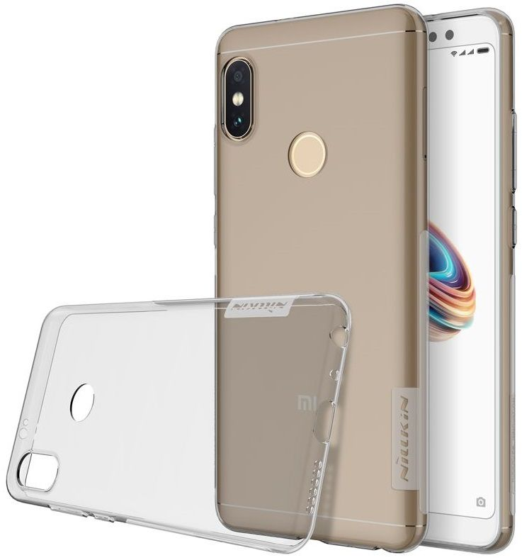 Чехол силиконовый Nillkin TPU case Xiaomi Note 5 - Grey