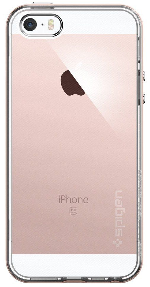 Чехол SGP  iPhone 5/5S Neo Hybrid Crystal - Rose Gold, картинка 2