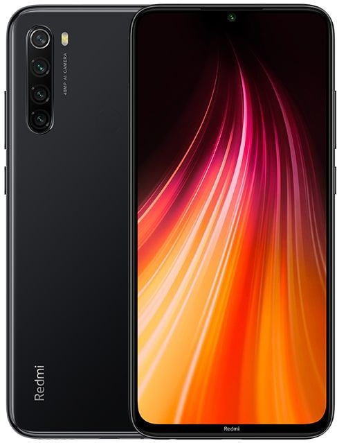 Смартфон Xiaomi Redmi Note 8 4/64GB (Black/Черный)