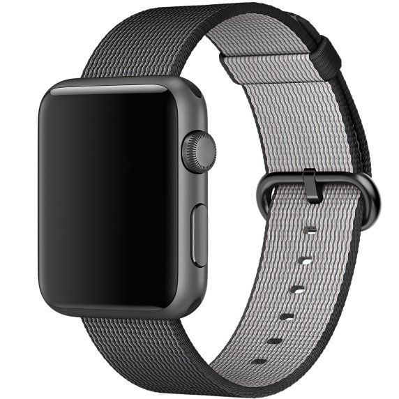 Ремешок для Apple Watch 42mm Nylon - Black, слайд 2