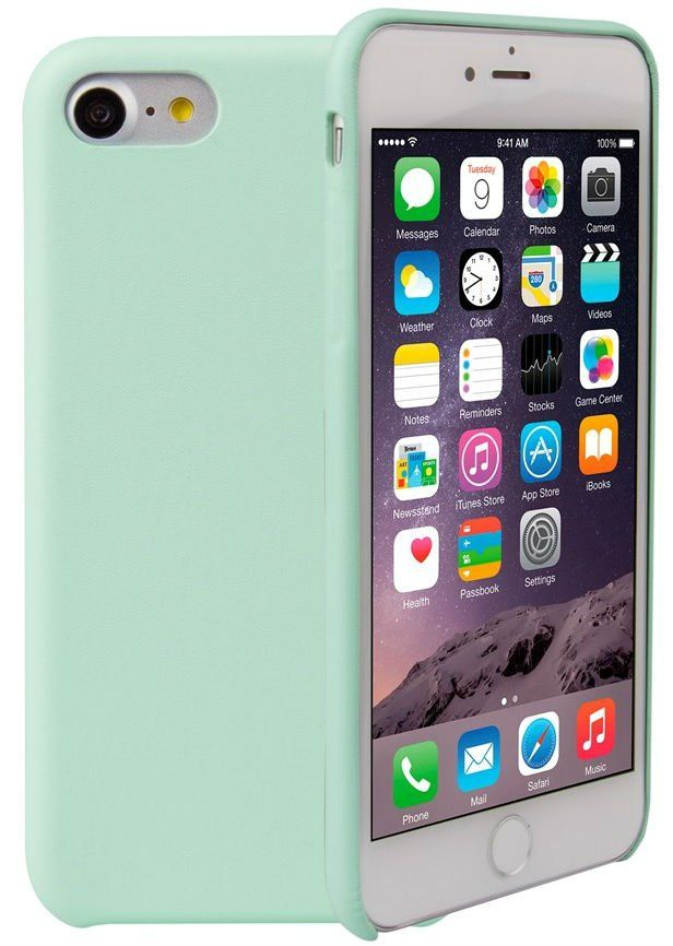 Чехол Uniq Pastel iPhone 7 - Green, картинка 1