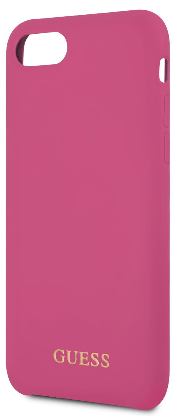 Чехол GUESS iPhone 7/8 Silicone Collection Pink, картинка 3