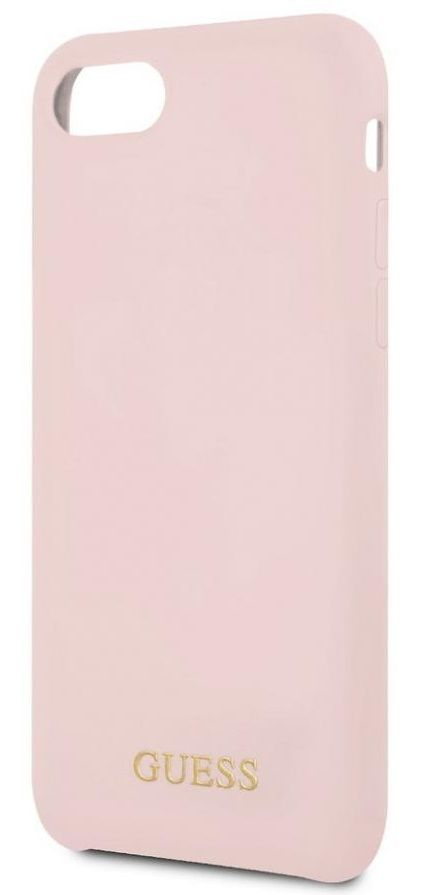 Чехол GUESS iPhone 7/8 Silicone Collection Light Pink, картинка 3