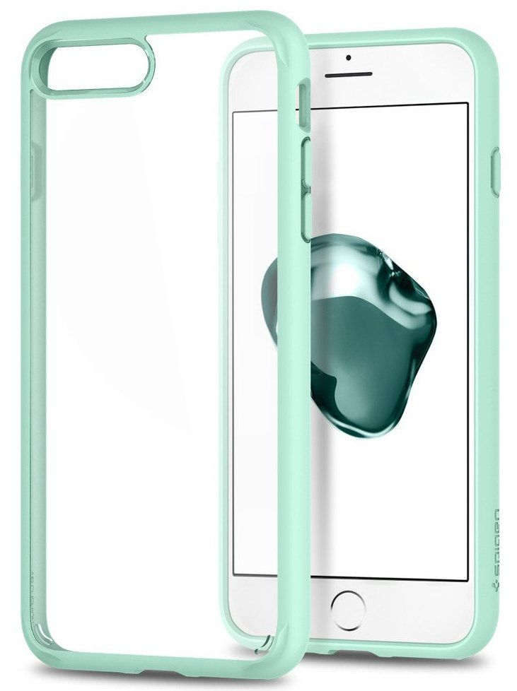 Чехол SGP iPhone 7 Ultra Hybrid 2 Mint, картинка 1