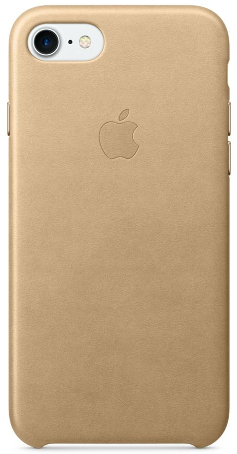 Кожаный чехол Apple iPhone 7/8 Leather Case Tan, слайд 1