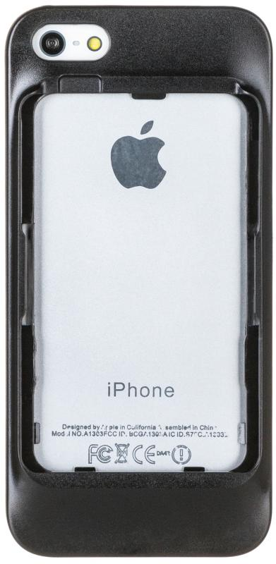 Чехол ELARI Case iPhone 5S для CardPhone - Black