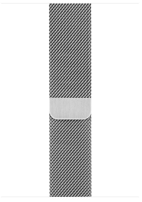 Часы Apple Watch S3 (GPS+LTE) 42mm Stainless Steel Case/Milanese Loop (MR1J2), картинка 3