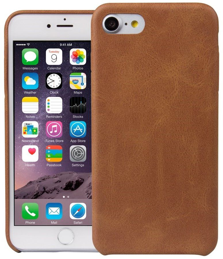 Чехол Uniq iPhone 7 Outfitter - Camel, картинка 1