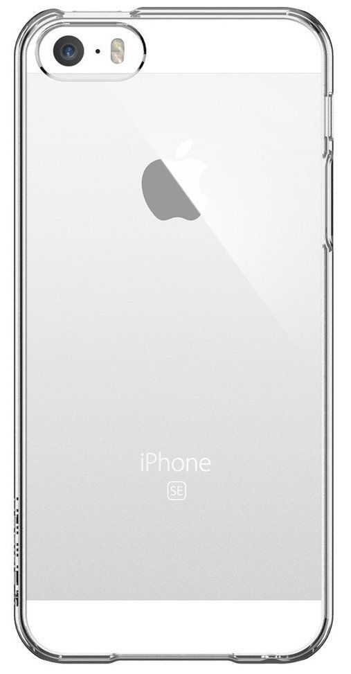 Чехол SGP  iPhone 5S/SE Thin Fit Crystal Clear, картинка 2
