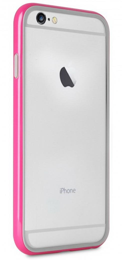 Чехол Puro Bumper iPhone 6 Plus - Pink, картинка 1