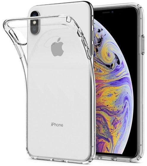 Чехол SGP iPhone XS Max Liquid Crystal Crystal Clear
