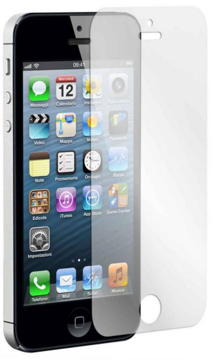 Защитное стекло REMAX HD Screen Protector iPhone 5/5S - Matte