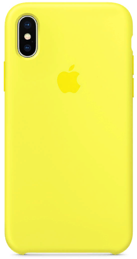 Чехол VIPE Flex iPhone X Ultra Slim 0.3 - Yellow