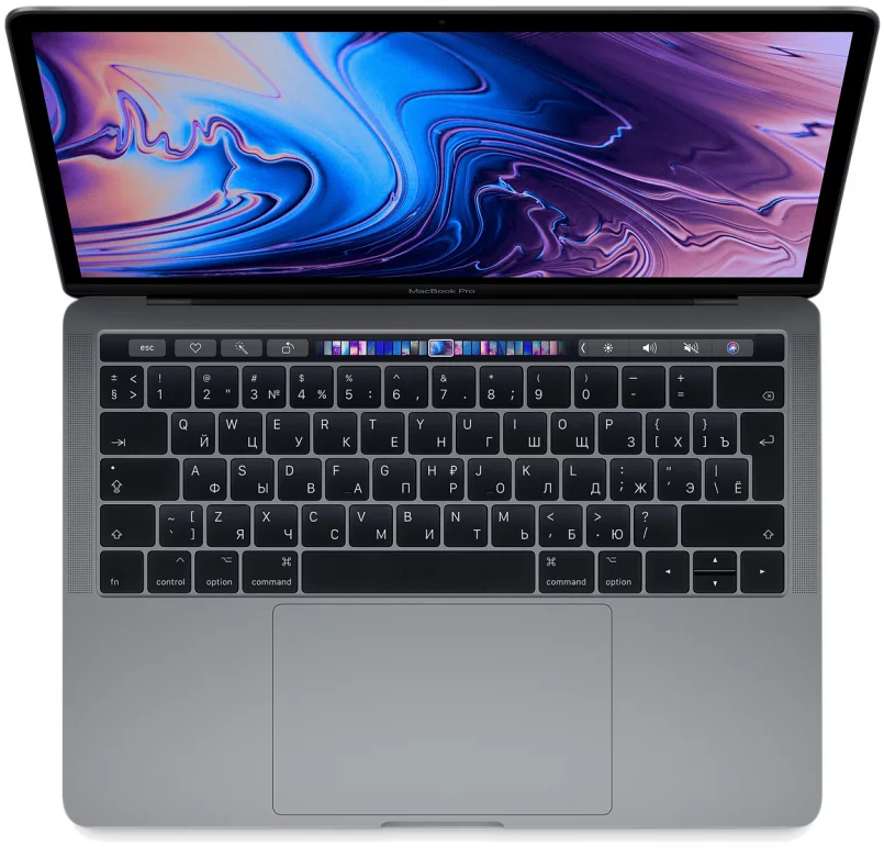 "Ноутбук Apple MacBook Pro 13"" 256GB Touch Bar Mid 2018 (MR9Q2) Серый космос"