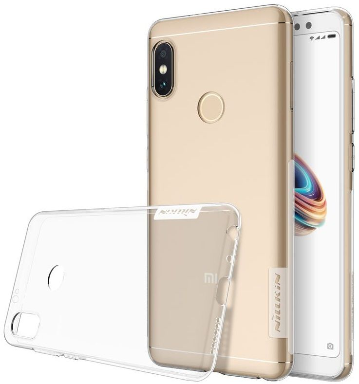 Чехол силиконовый Nillkin TPU case Xiaomi Note 5 - Clear