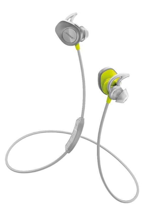 Наушники BOSE SoundSport Wireless Headset - Citron, картинка 1