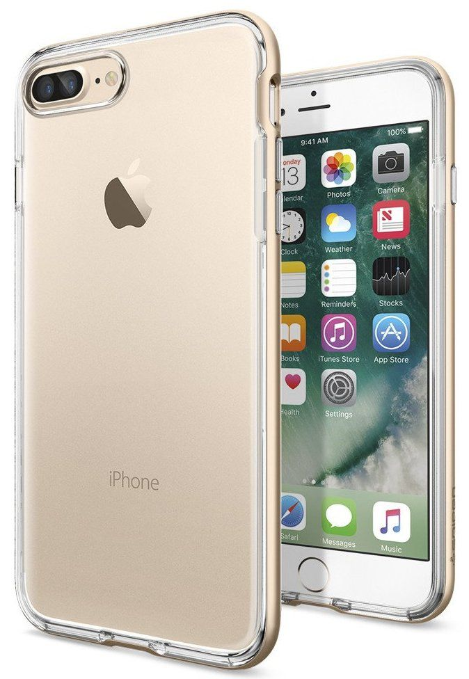 SGP Чехол iPhone 7 Plus Neo Hybrid Crystal Champagne Gold
