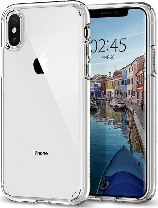 Чехол SGP iPhone X/XS Ultra Hybrid Crystal Clear