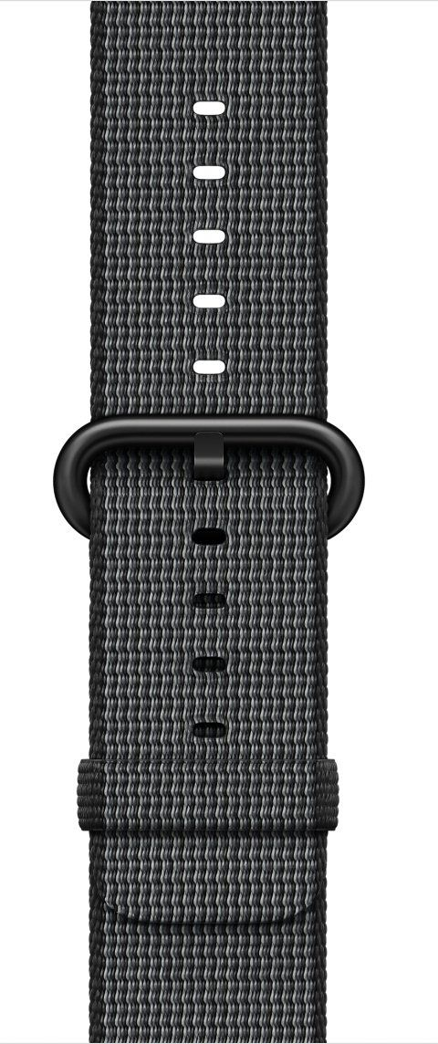 Ремешок для Apple Watch 42mm Nylon - Black, слайд 1