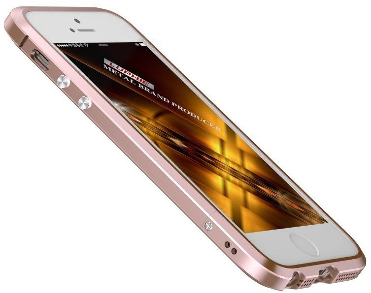 Чехол Luphie iPhone 5S/SE Bumper - Rose Gold