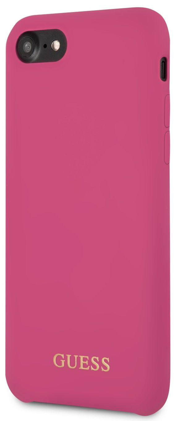 Чехол GUESS iPhone 7/8 Silicone Collection Pink, картинка 2