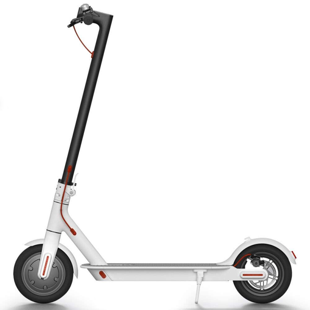 Электросамокат XiaoMi Mijia Electric Scooter M365 белый, слайд 1