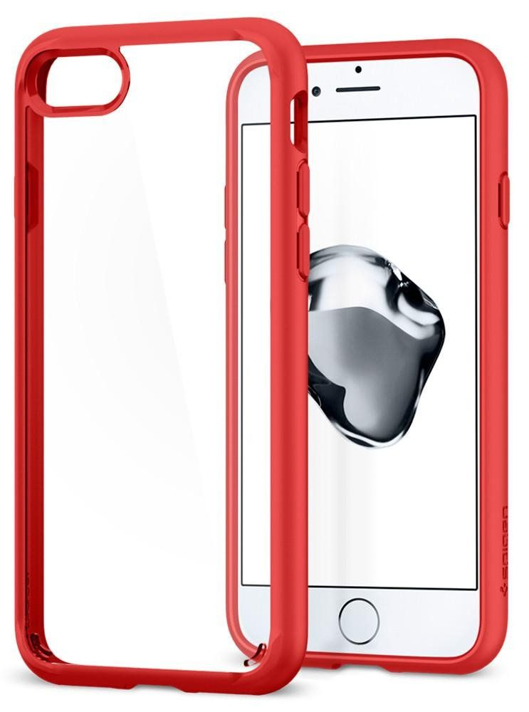 Чехол SGP iPhone 7 Ultra Hybrid 2 Red, картинка 2