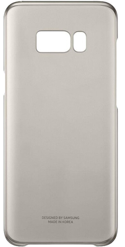 Чехол Samsung Galaxy S8+ Clear Cover - Gold, картинка 2