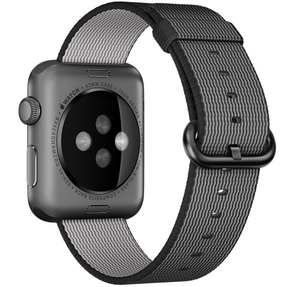 Ремешок для Apple Watch 42mm Nylon - Black, слайд 3