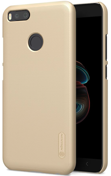 Чехол Nillkin Frosted Shield Xiaomi 5X (A1) - Gold