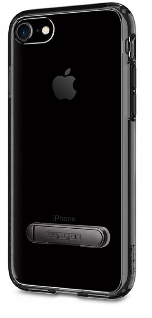 SGP Чехол iPhone 7 Ultra Hybrid S Jet Black, картинка 1