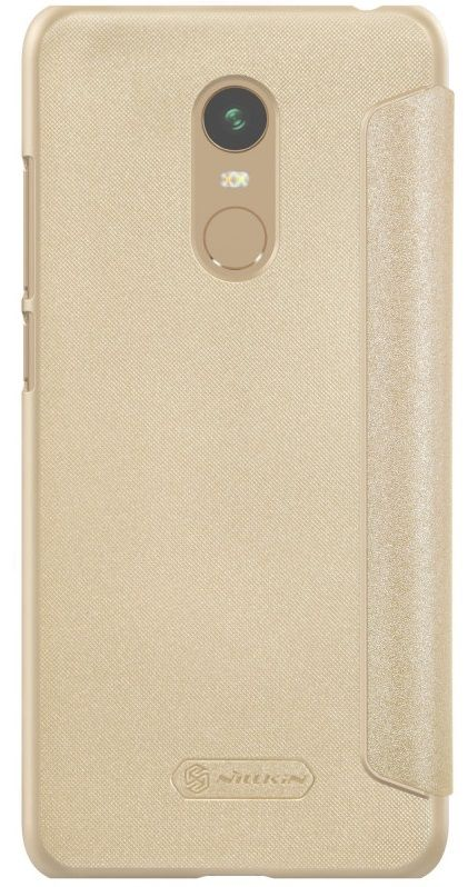 Чехол Nillkin Sparkle Leather case Xiaomi 5 Plus - Gold, картинка 3