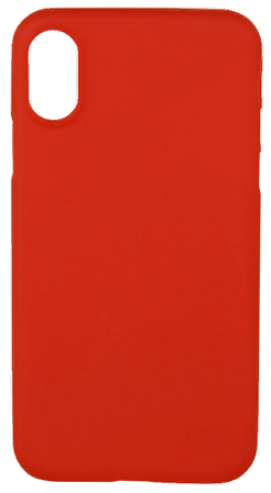 Чехол VIPE Flex iPhone X Ultra Slim 0.3 - Red