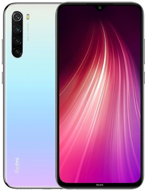 Смартфон Xiaomi Redmi Note 8 3/32GB (White/Белый)