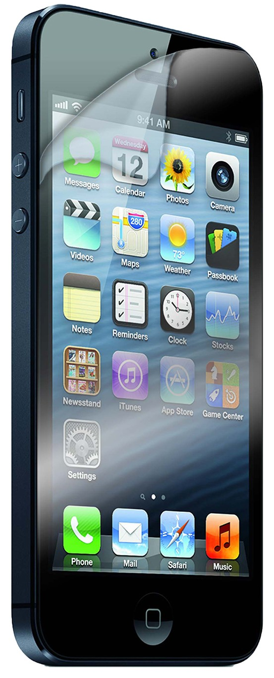Защитное стекло REMAX HD Screen Protector iPhone 5/5S - Clear