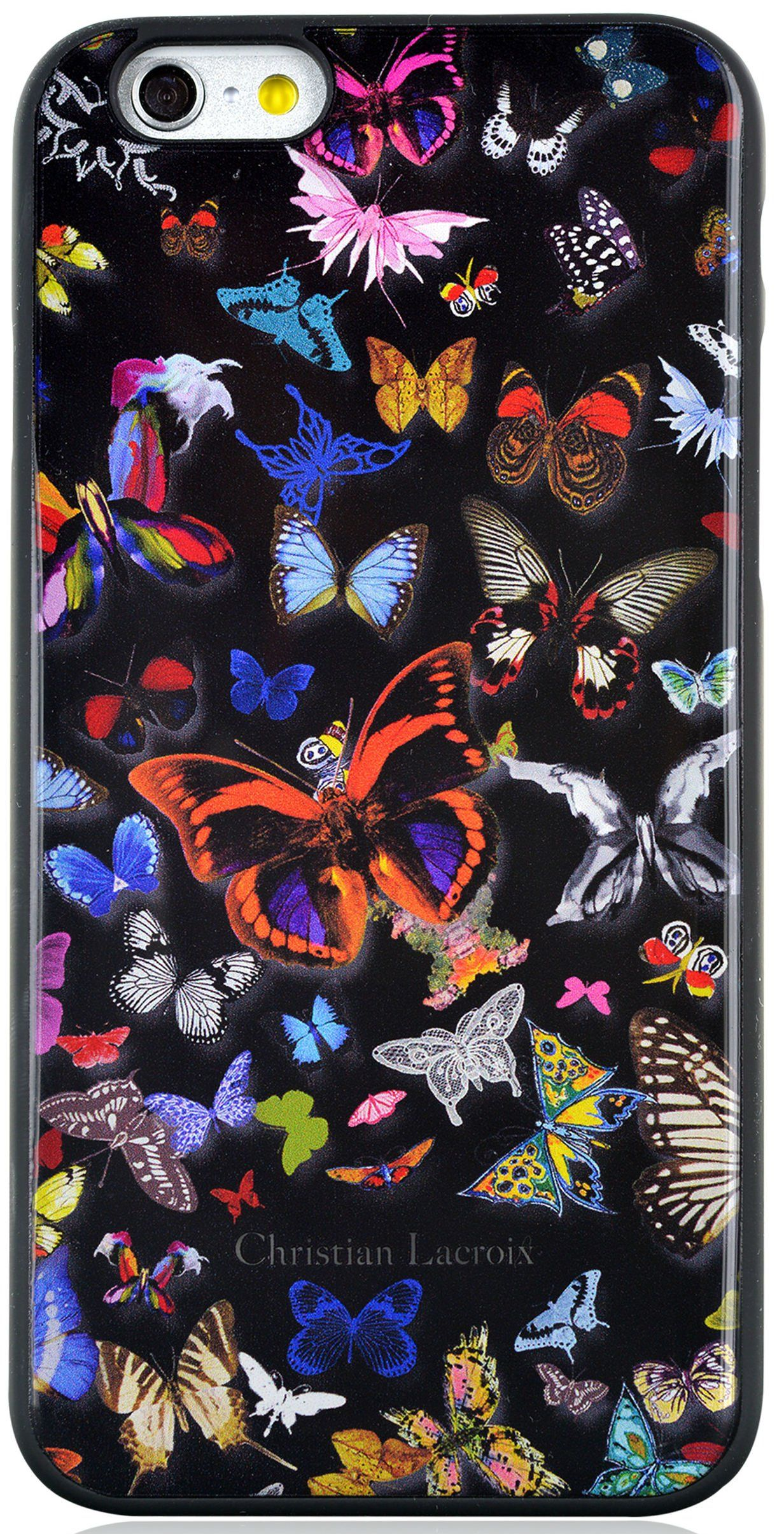 Чехол Lacroix iPhone 6 Butterfly Hard Case - Black