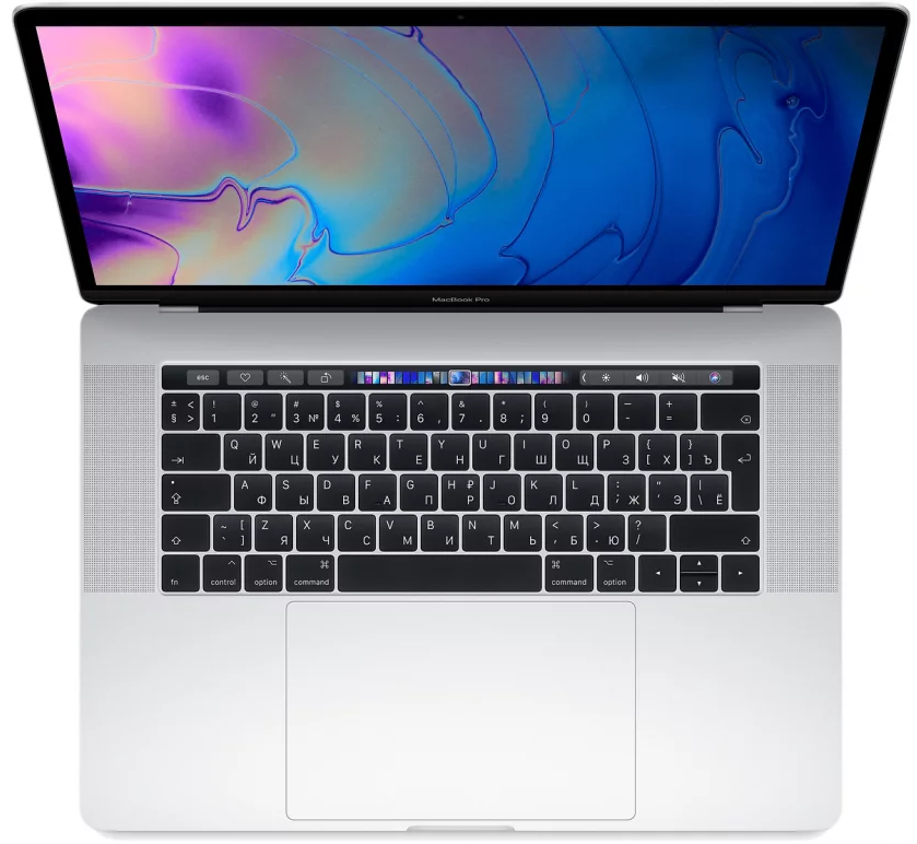 "Ноутбук Apple MacBook Pro 15"" 256GB Touch Bar Mid 2018 (MR962) Серебристый"