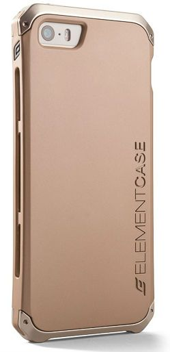 Чехол ElementCase iPhone 6 Solace w/Pouch - Gold/Gold
