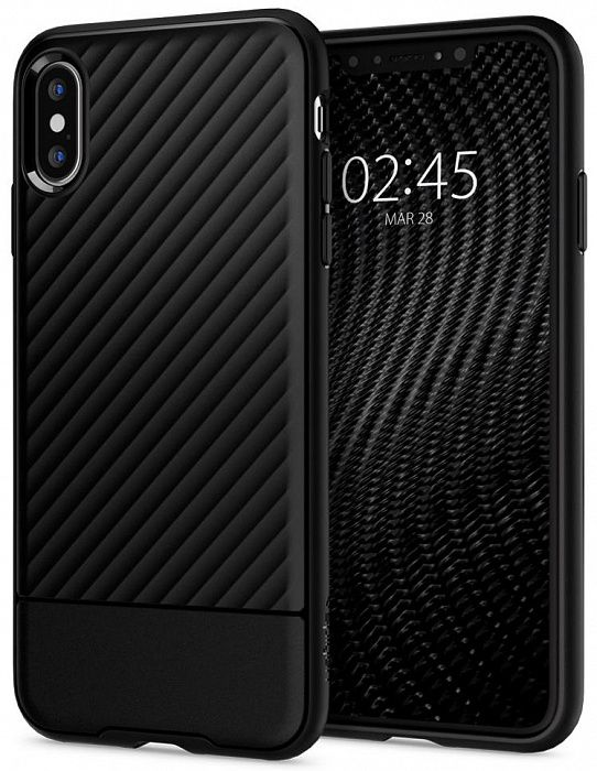 Чехол SGP iPhone X/XS Core Armor Black