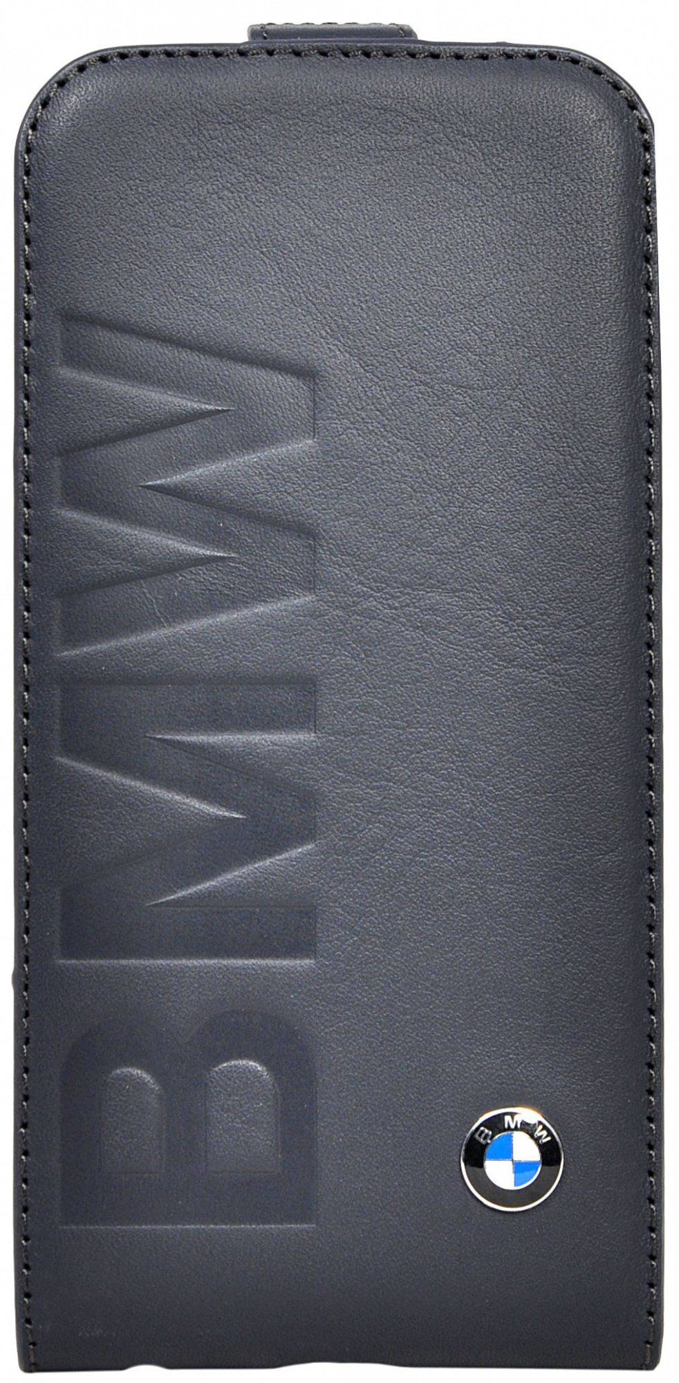 Чехол BMW iPhone 6 Logo Signature Flip - Navy