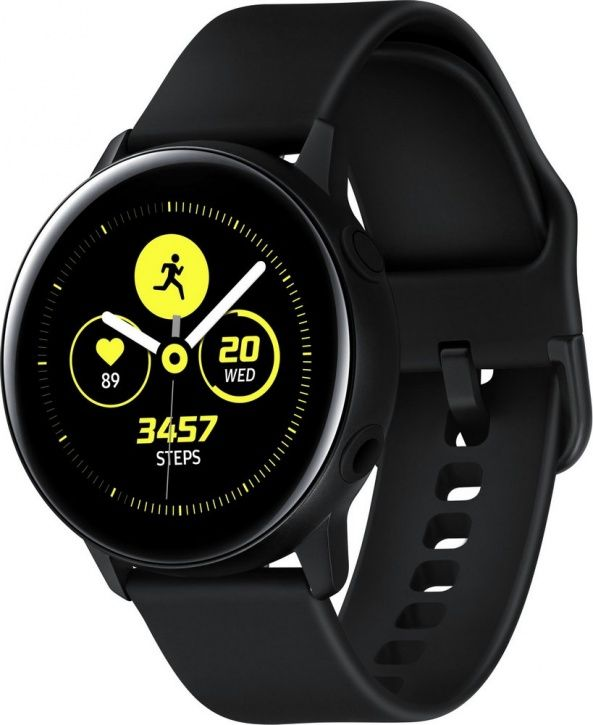 Смарт-часы Samsung Galaxy Watch Active Черный сатин