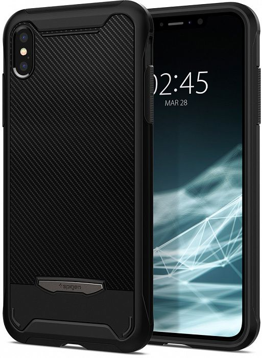 Чехол SGP iPhone X/XS Hybrid NX Black